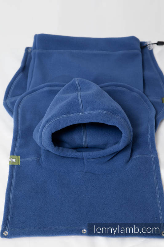Turtleneck for two - blue #babywearing