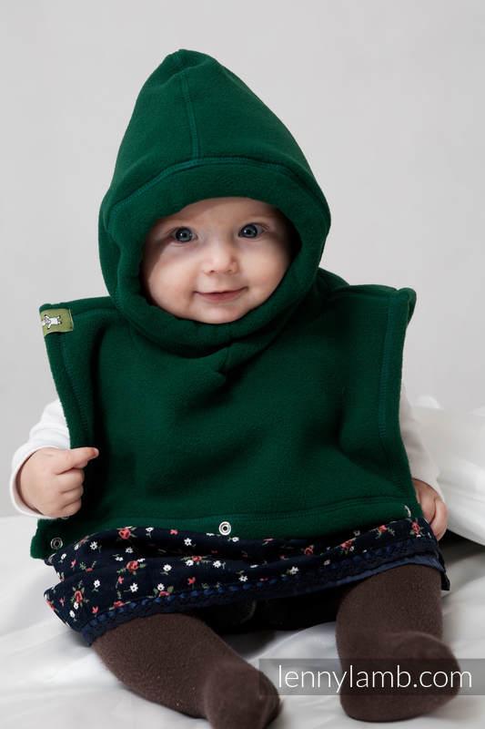 Turtleneck for two - bottle green #babywearing