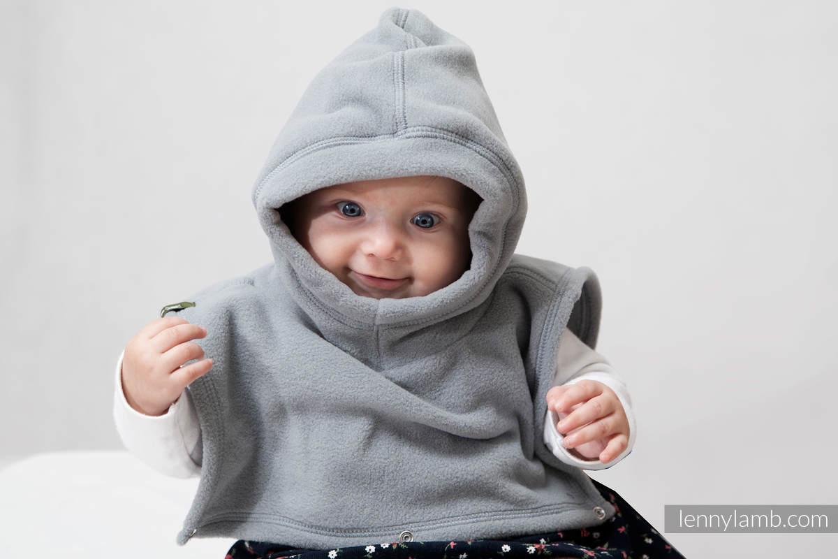 Cubrecuellos doble - gris #babywearing