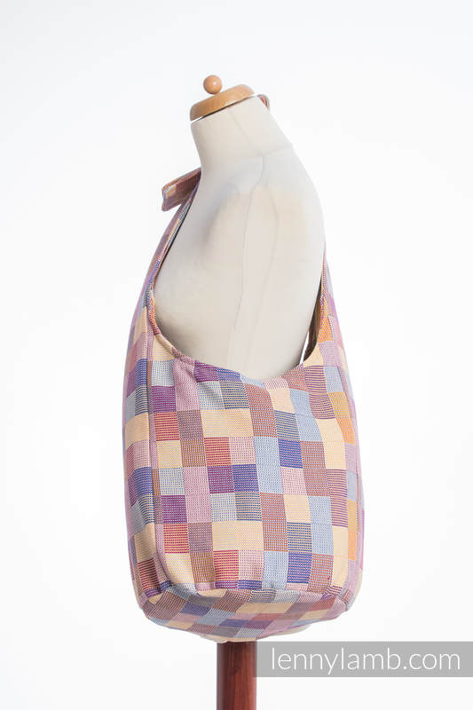 Hobo Bag made of woven fabric, 100% cotton - QUARTET  #babywearing