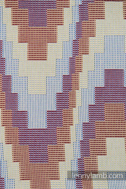 Einkaufstasche, hergestellt aus gewebtem Stoff (100% Baumwolle) - TRIO  #babywearing