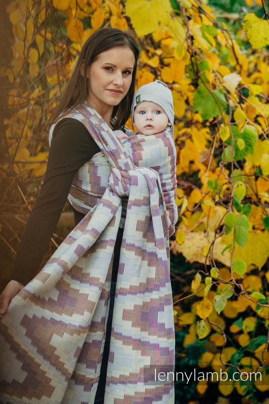 Baby Wrap, Crackle Weave (100% cotton) - TRIO  - size S (grade B) #babywearing