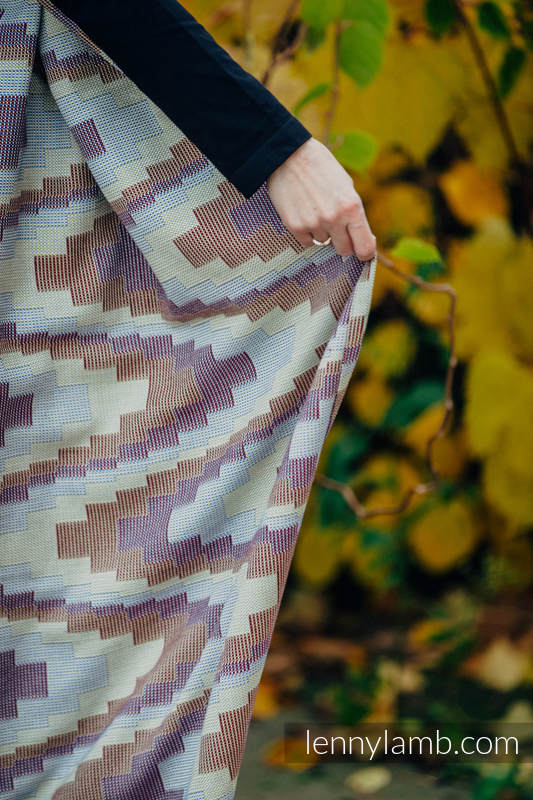 Baby Wrap, Crackle Weave (100% cotton) - TRIO  - size S #babywearing