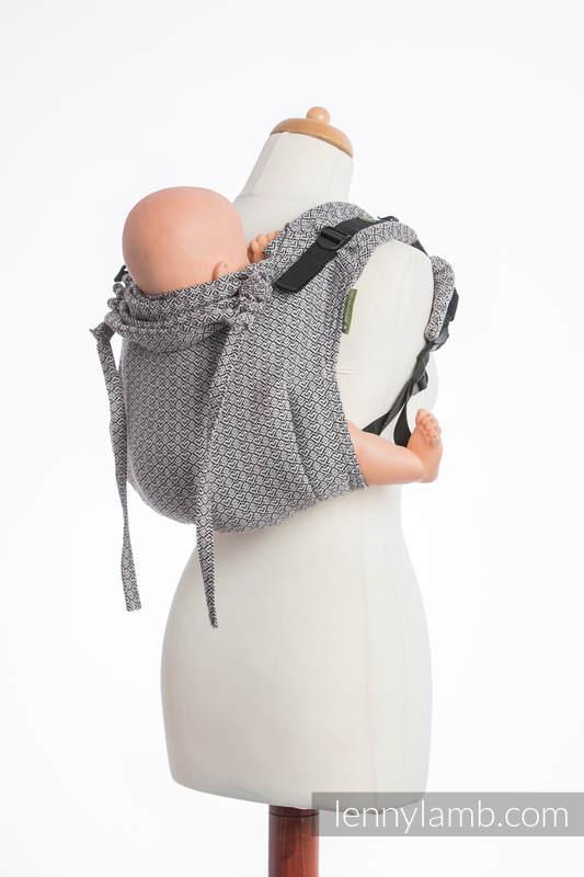 Onbuhimo SAD LennyLamb, talla estándar, jacquard (100% algodón) - LITTLE LOVE MYSTERY  #babywearing