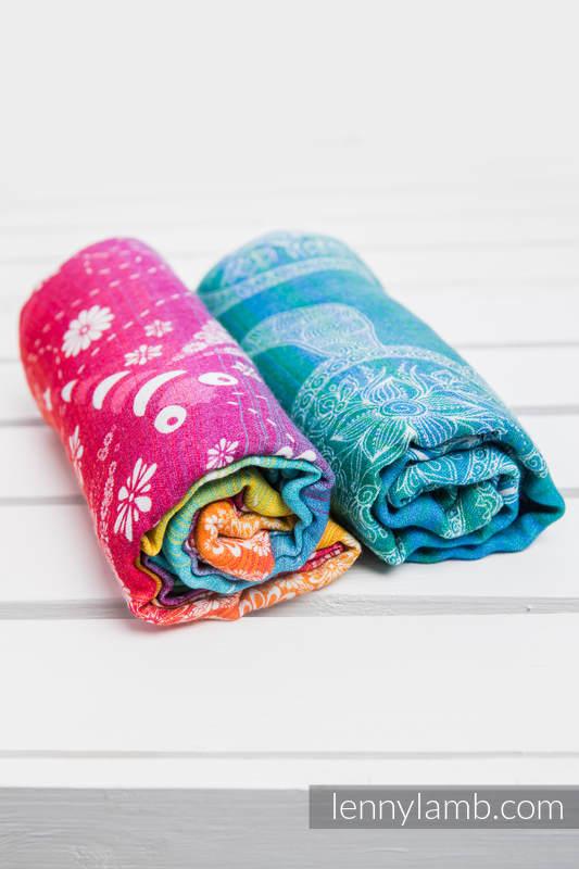 Swaddle Wrap Set - DRAGONFLY RAINBOW, SEA ADVENTURE LIGHT #babywearing