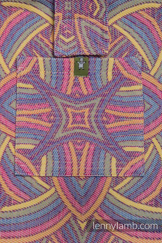Torba na ramię z materiału chustowego, (100% bawełna) - ILUMINACJA LIGHT - uniwersalny rozmiar 37cmx37cm (drugi gatunek) #babywearing