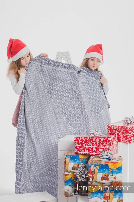 Woven Blanket (100% bamboo viscose) - Navy Blue #babywearing