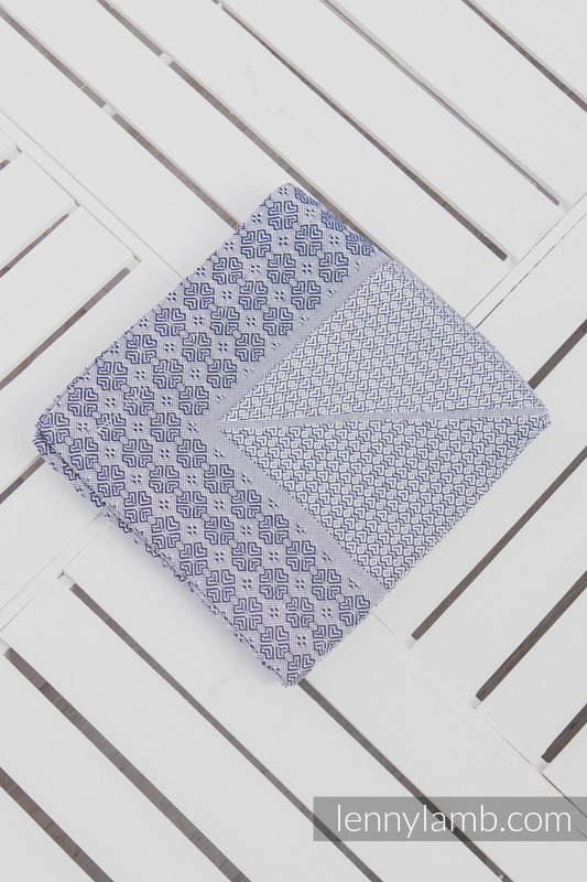 Woven Blanket (100% cotton) - Navy Blue #babywearing