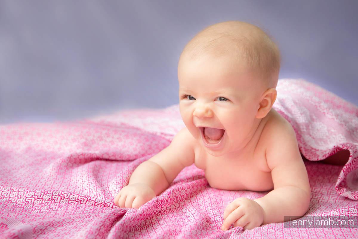 :WVN_BLNKT_CTTN_001_PNK #babywearing