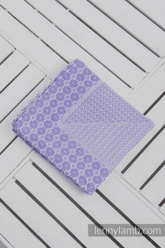 Woven Blanket (100% cotton) - Purple #babywearing