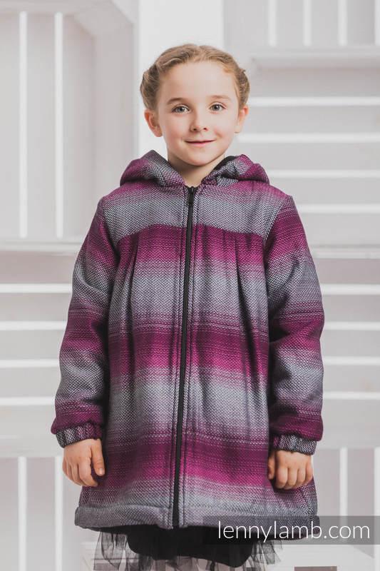 new style 3e935 efa0c Mantel für Mädchen - Größe 122 - LITTLE HERRINGBONE INSPIRATION und Schwarz
