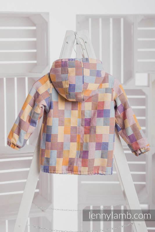 Mantel für Jungs - Größe 122 - QUARTET und Cafe Latte #babywearing