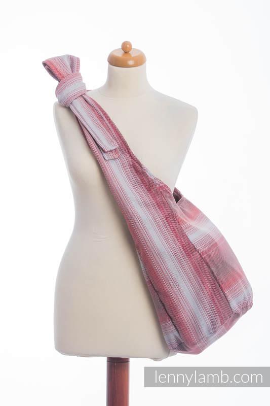Hobo Bag made of woven fabric (100% cotton) - LITTLE HERRINGBONE ELEGANCE  #babywearing