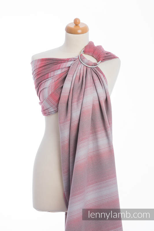 Ringsling, Herringbone Weave (100% cotton) - LITTLE HERRINGBONE ELEGANCE  - long 2.1m #babywearing