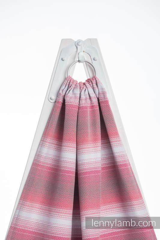 Ringsling, Herringbone Weave (100% cotton) - with gathered shoulder - LITTLE HERRINGBONE ELEGANCE  #babywearing