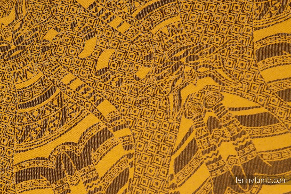 Cats Black & Orange, jacquard weave fabric, 60% cotton 40
