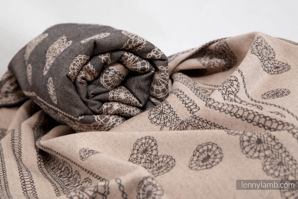 Baby Wrap Jacquard Weave 60 Cotton 40 Bamboo Arabica Lace