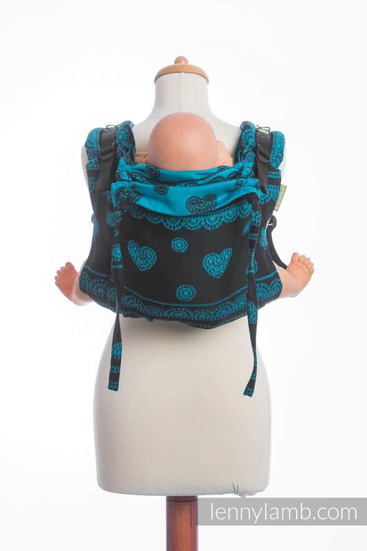 Lenny Buckle Onbuhimo Tragehilfe, Größe Standard, Jacquardwebung (100% Baumwolle) - DIVINE LACE (grad B) #babywearing