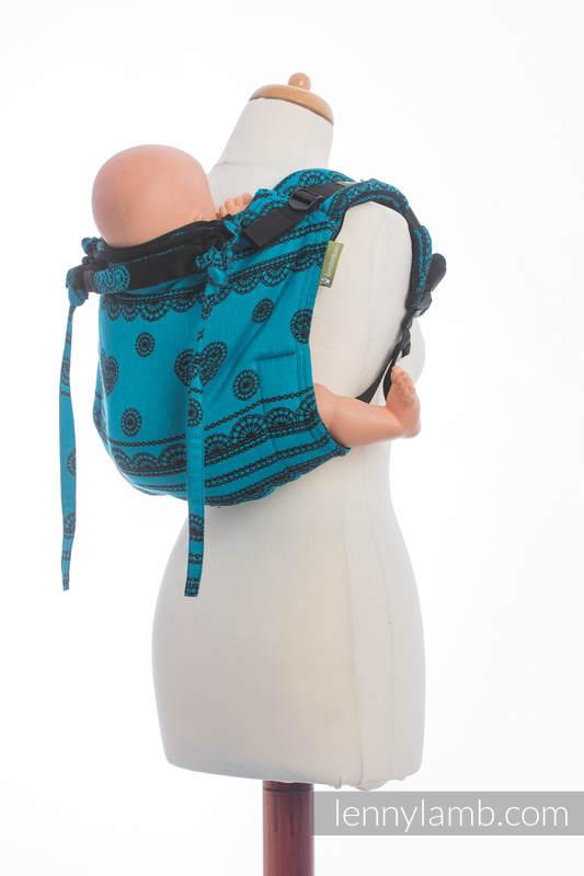 Lenny Buckle Onbuhimo  Tragehilfe, Größe Standard, Jacquardwebung (100% Baumwolle) - DIVINE LACE REVERS #babywearing