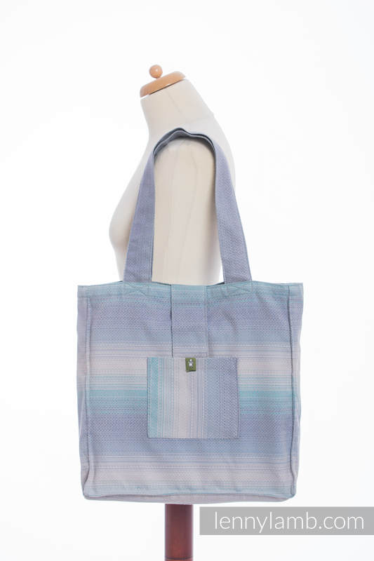 Shoulder bag made of wrap fabric (100% cotton) - DIAMOND ILLUSION LIGHT - standard size 37cmx37cm #babywearing