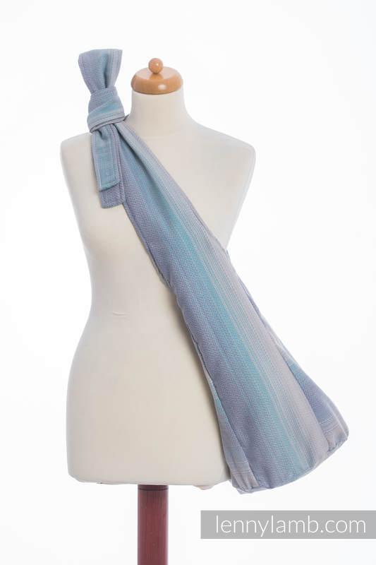 Hobo Bag made of woven fabric, 100% cotton - DIAMOND ILLUSION LIGHT #babywearing