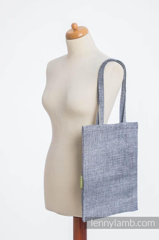 Shopping bag made of wrap fabric (100% cotton) - DENIM BLUE #babywearing