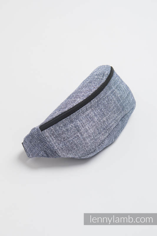 Waist Bag made of woven fabric, (100% cotton) - DENIM BLUE #babywearing