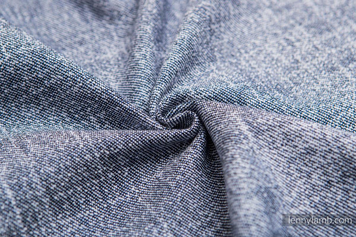 Baby Wrap, Jacquard Weave (100% cotton) - DENIM BLUE - size L #babywearing