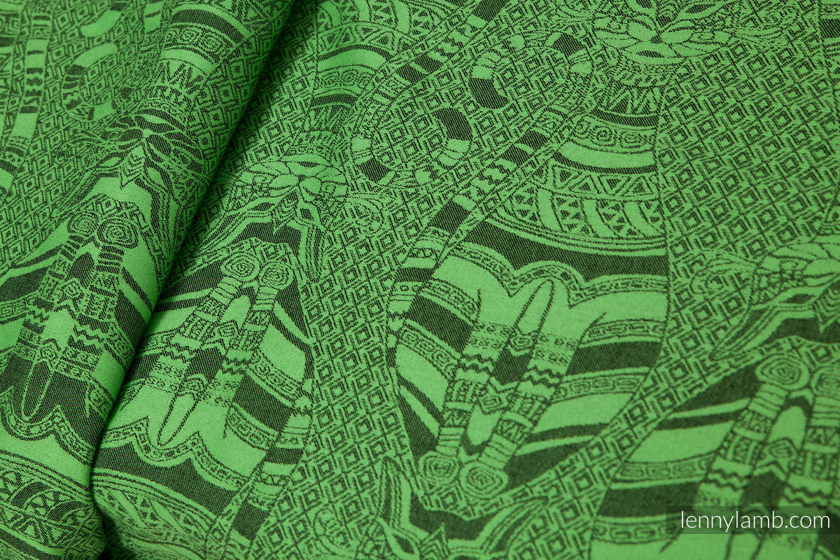 Baby Wrap Jacquard Weave 60 Cotton 40 Bamboo Cats