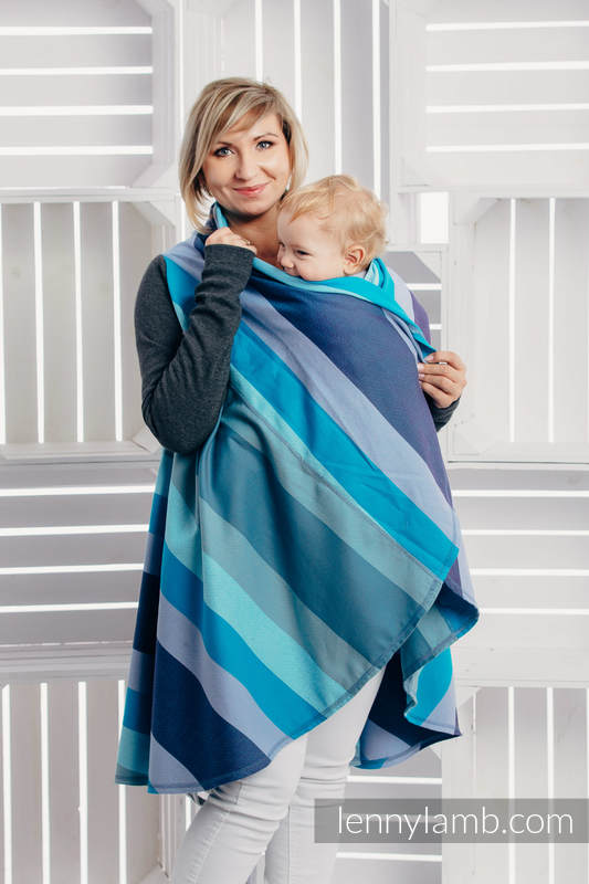 Long Cardigan - size 2XL/3XL - Finnish Diamond #babywearing