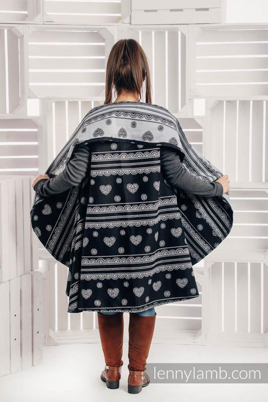 Long Cardigan - size L/XL - Glamorous Lace (grade B) #babywearing