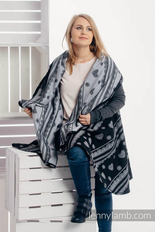 Cardigan largo - talla L/XL - Glamorous Lace #babywearing