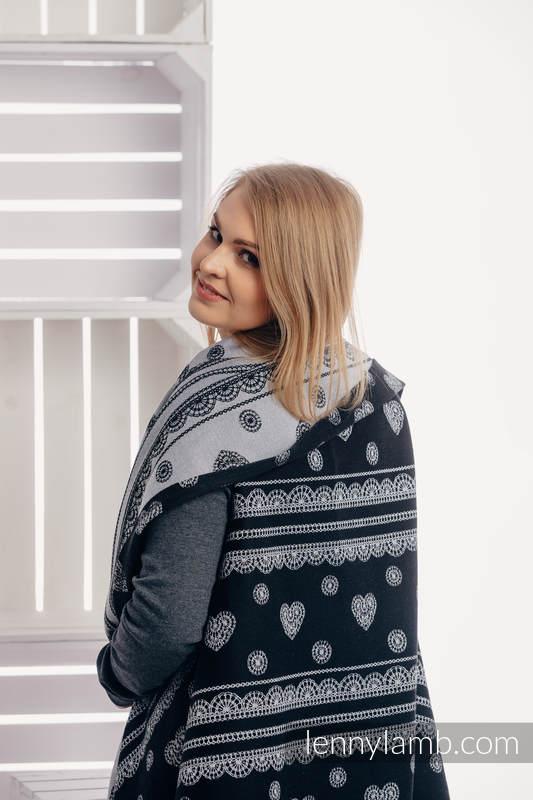 Long Cardigan - size 2XL/3XL - Glamorous Lace #babywearing