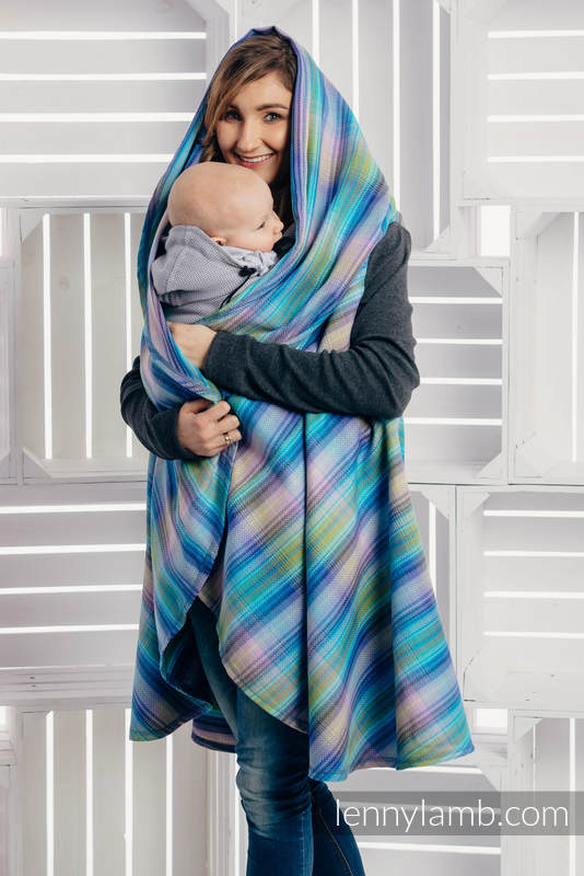 Long Cardigan - size 2XL/3XL - Little Herringbone Petrea #babywearing