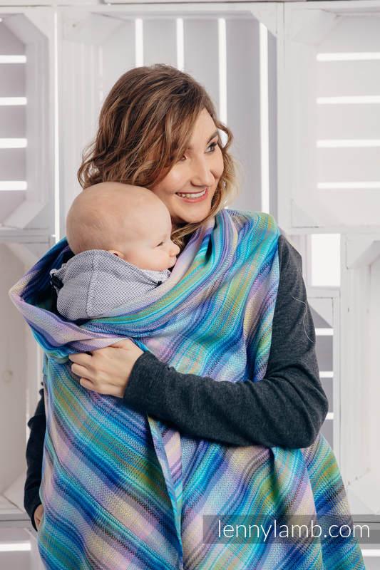 Long Cardigan - size S/M - Little Herringbone Petrea (grade B) #babywearing