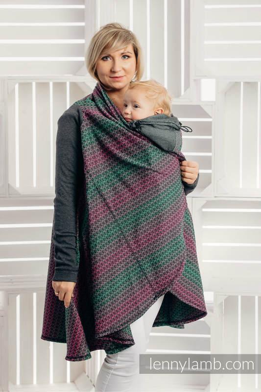 Long Cardigan - plus size - Little Love Orchid #babywearing