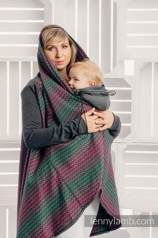 Long Cardigan - size 2XL/3XL - Little Love Orchid #babywearing