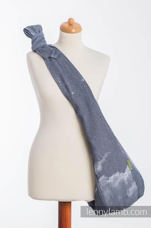 Hobo Bag made of woven fabric, 100% cotton - MOONLIGHT WOLF (grade B) #babywearing