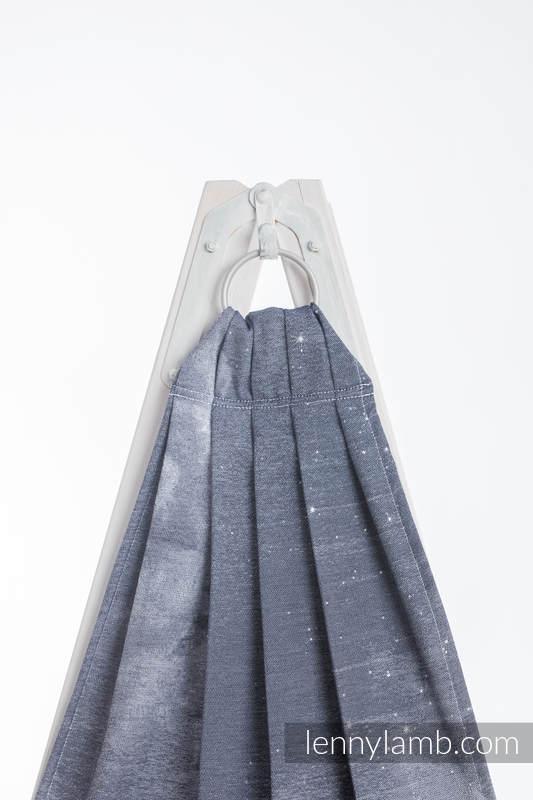 Ringsling, Jacquard Weave (100% cotton) - MOONLIGHT WOLF - long 2.1m #babywearing