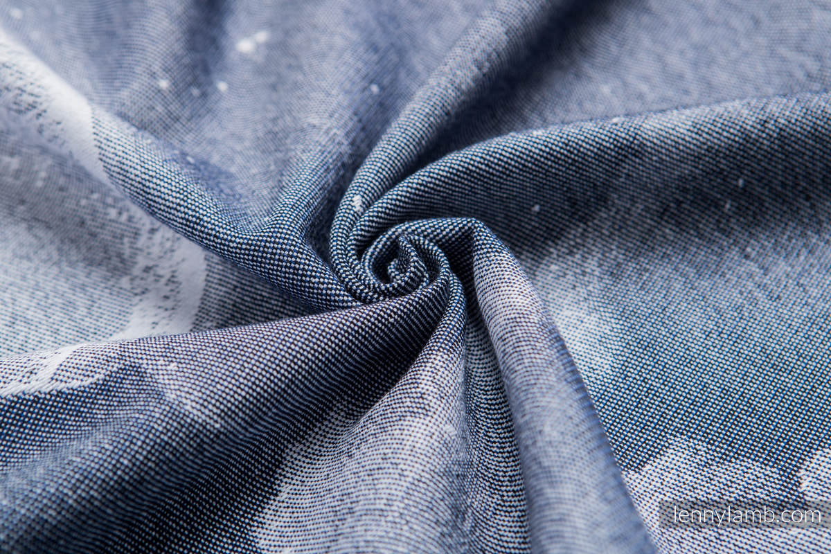 Baby Wrap, Jacquard Weave (100% cotton) - MOONLIGHT WOLF - size XS #babywearing