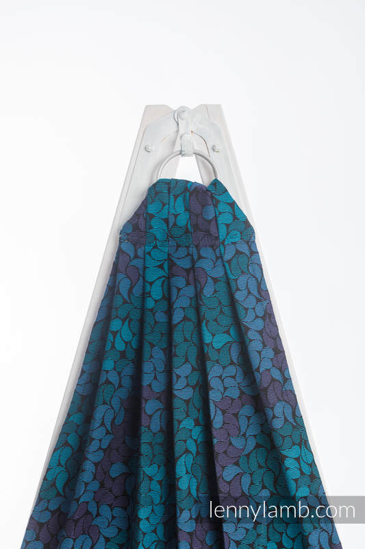 Ringsling, Jacquard Weave (100% cotton) - COLORS OF NIGHT - long 2.1m (grade B) #babywearing