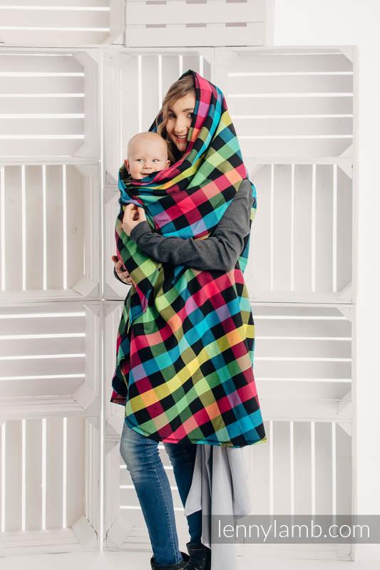 Long Cardigan - size S/M - Diamond Plaid (grade B) #babywearing