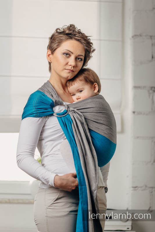 Bandolera de anillas Línea Básica - SODALIT - 100% algodón,  tejido de sarga cruzada - con plegado simple - standard 1.8m #babywearing