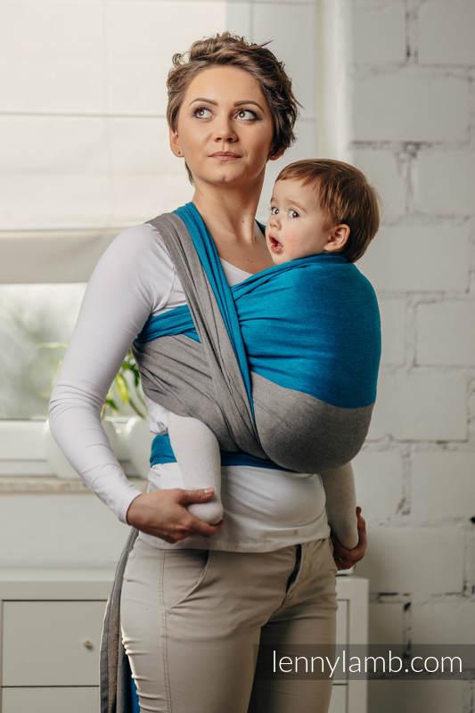 Basic Line Baby Sling - SODALIT, Broken Twill Weave, 100% cotton, size XS (grade B) #babywearing