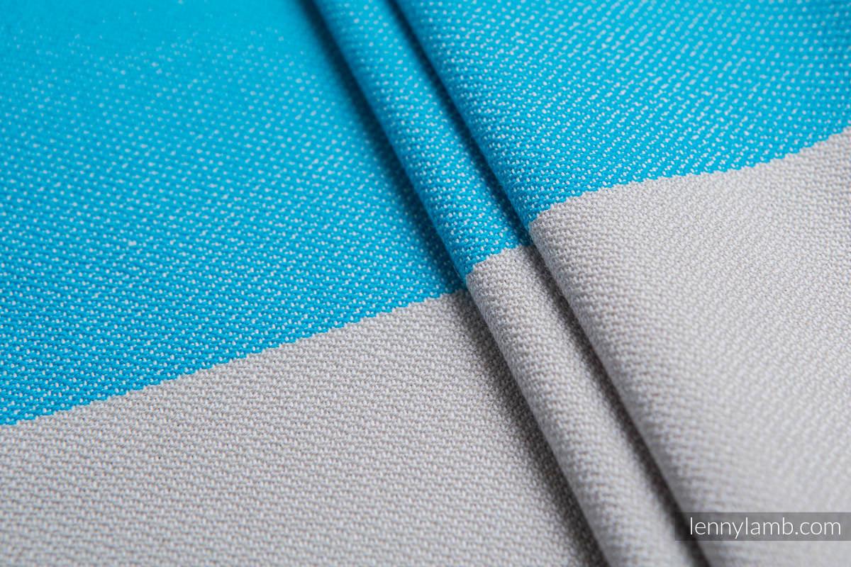 Fular Línea Básica - LARIMAR, tejido de sarga cruzada, 100% algodón, talla L (grado B) #babywearing