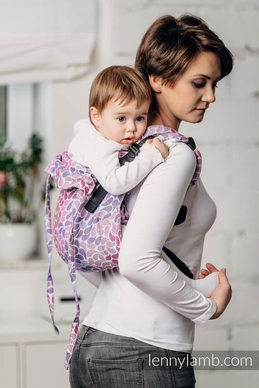 Nosidło Klamrowe ONBUHIMO z tkaniny żakardowej (100% bawełna), rozmiar Toddler -KOLORY FANTAZJI #babywearing