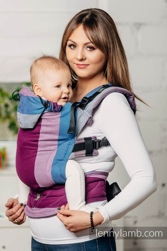 Ergonomic Carrier Baby Size Diamond Weave 100 Cotton Wrap