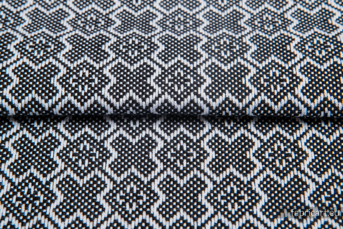 CARRE FELICIA, fabric quarters, jacquard, size 50cm x 70cm #babywearing