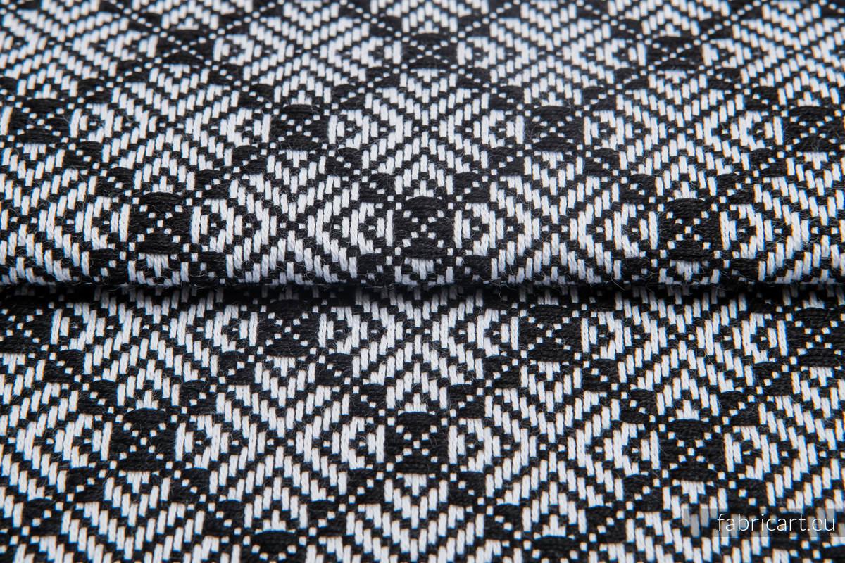 CARRE JULIET, ćwiartka tkaniny, splot żakardowy, rozmiar 50cm x 70cm #babywearing