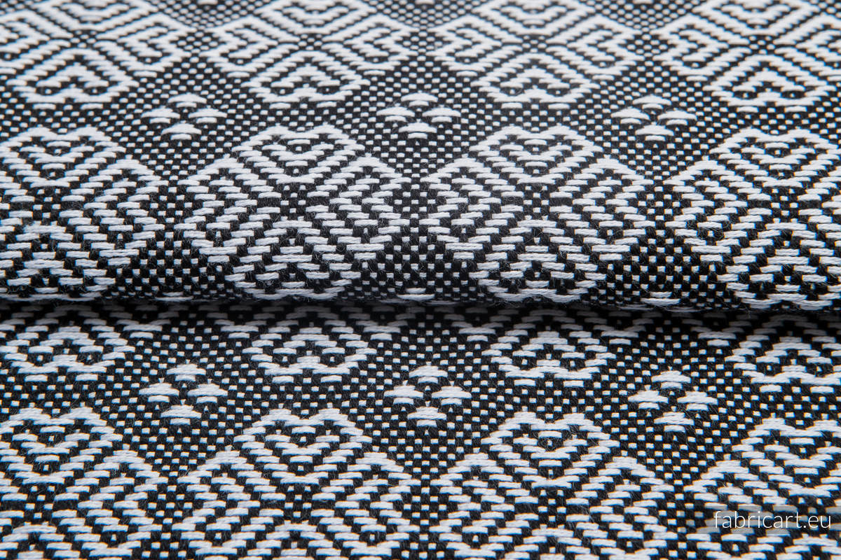 CARRE MARGO, ćwiartka tkaniny, splot żakardowy, rozmiar 50cm x 70cm #babywearing